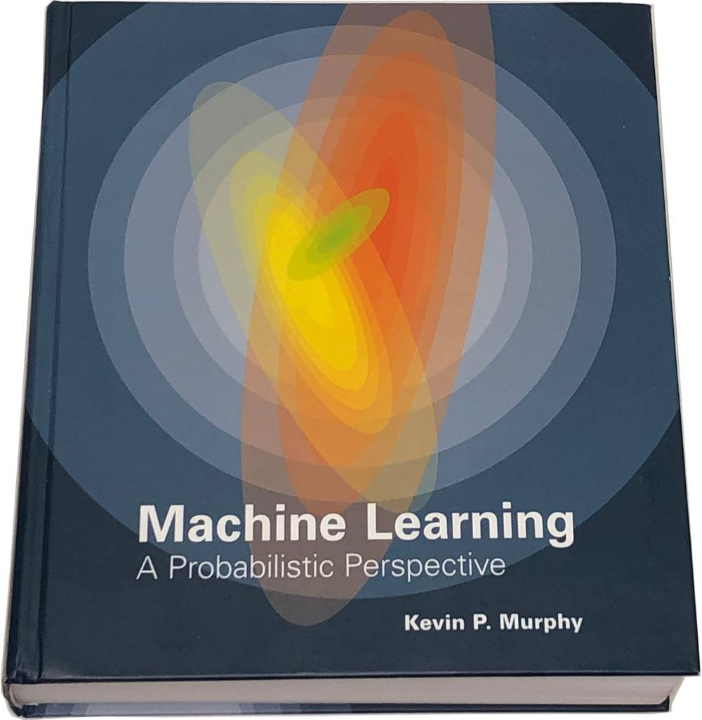 Book image of Machine Learning: A Probabilistic Perspective.