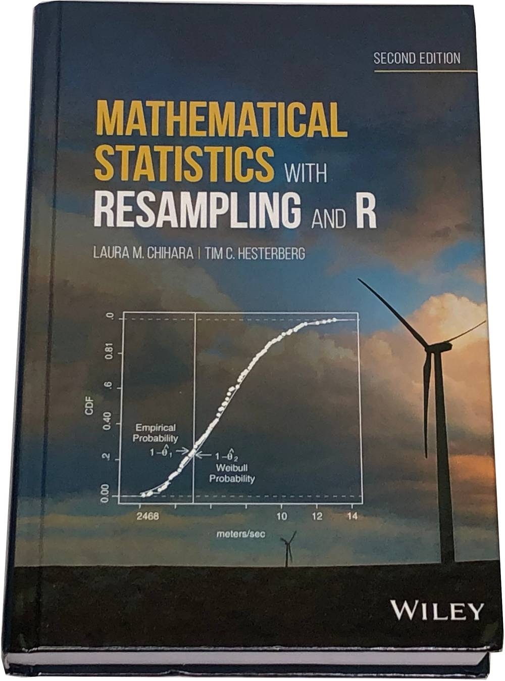 Book image of Mathematical Statistics with Resampling and R.