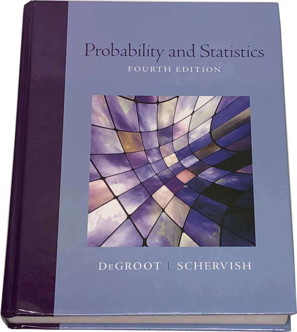Book image of Probability and Statistics.