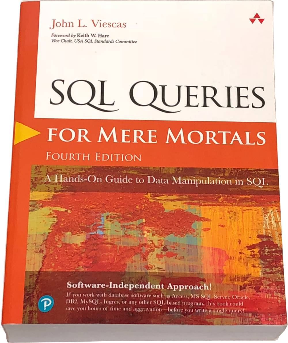 Book image of SQL Queries for Mere Mortals.